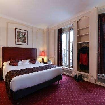 Hôtel du Pré - Doppelzimmer mit einem Queen-Bett