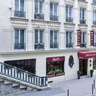 Hôtel du Pré - die Fassade