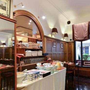 Hôtel du Pré - le buffet petit-déjeuner