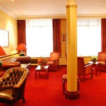 Hôtel du Pré - der Salon