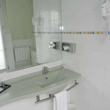 Hôtel du Pré - Salle de bain
