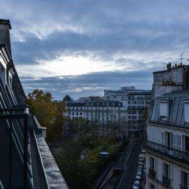 Hôtel du Pré - vue depuis le 6 ème étage