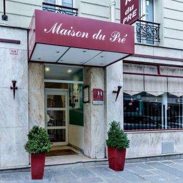Maison du Pré - the facade