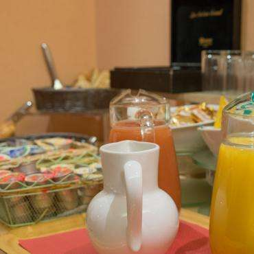 Relais du Pré - the breakfast buffet