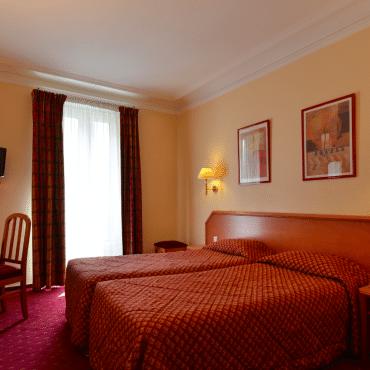 Résidence du Pré - Doppelzimmer mit getrennten Betten