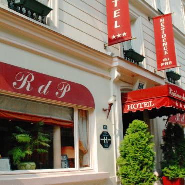 Résidence du Pré - la façade