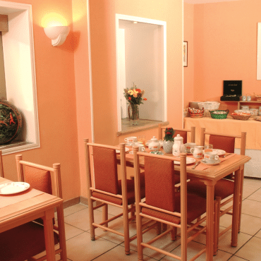 Résidence du Pré - la salle petit-déjeuner