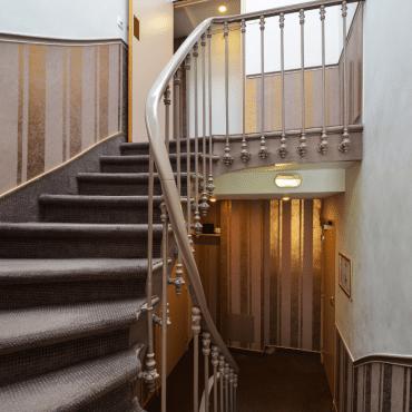 Résidence du Pré - les escaliers